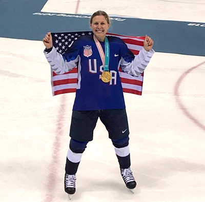 Palos 118's Kendall Coyne Wins Olympic Gold
